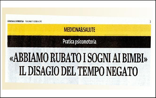 Il giornale di Brescia intervista il Prof. Aucouturier