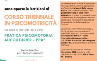 Corso Triennale in Psicomotricità (Pratica Psicomotoria Aucouturier – PPA®)