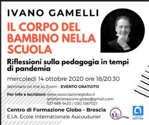 Webinar con Ivano Gamelli