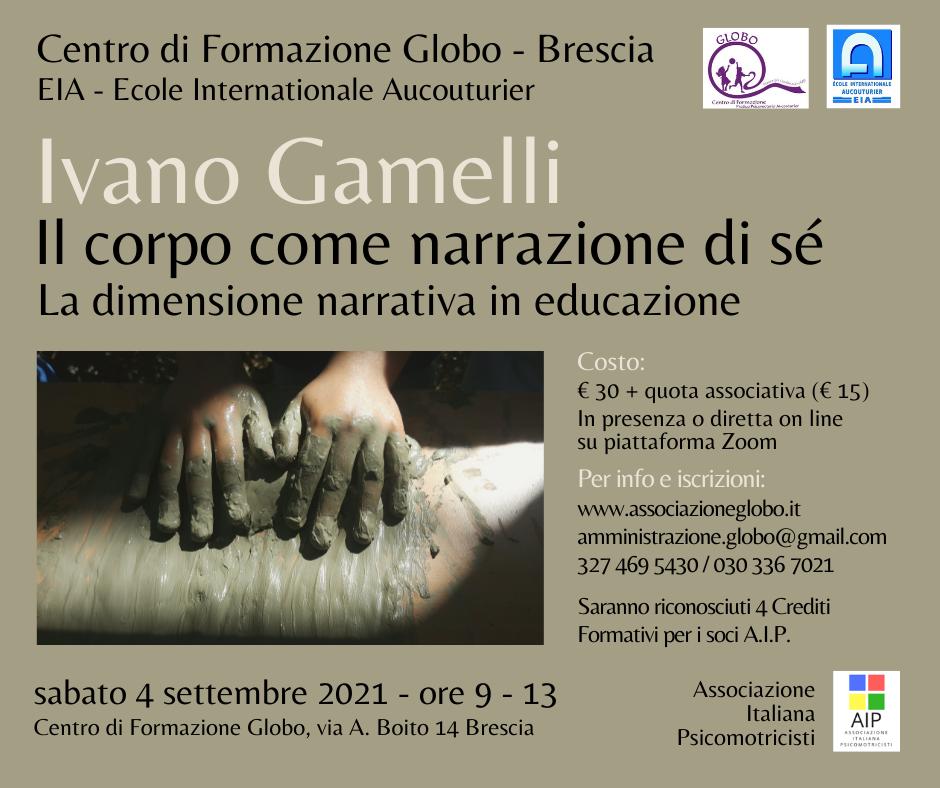 Read more about the article Seminario con Ivano Gamelli