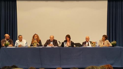 Le istituzioni al tavolo del Prof. Aucouturier