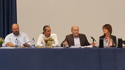 L'equipe dei formatori del Globo con il Prof, Aucouturier